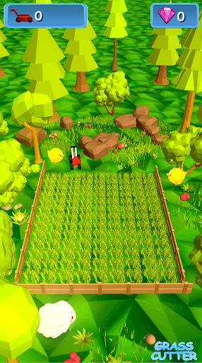 Grass Cutter – Stress relief and relaxation sim  captures d'écran 1