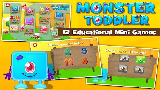 Monster Toddler Games Free- screenshot thumbnail