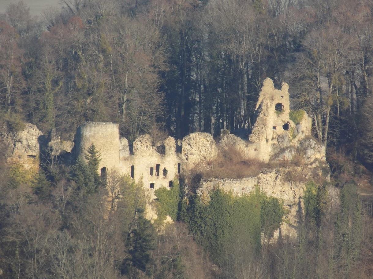 Randonnée dans le Jura à VTT