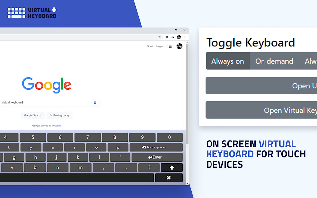Virtual Keyboard Plus