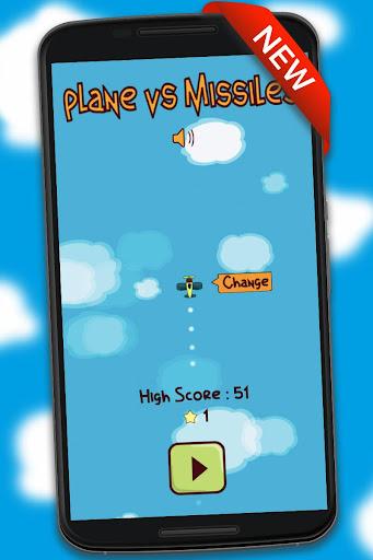 Plane vs Missiles  captures d'écran 1