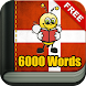 Learn Danish - 6000 Words - FunEasyLearn image