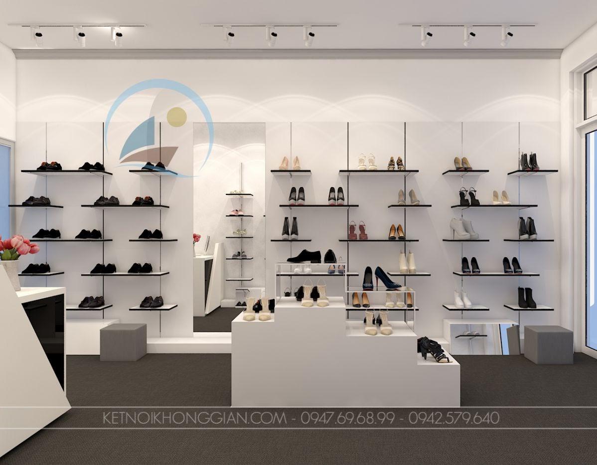 thiết kế shop giày dép Si 10