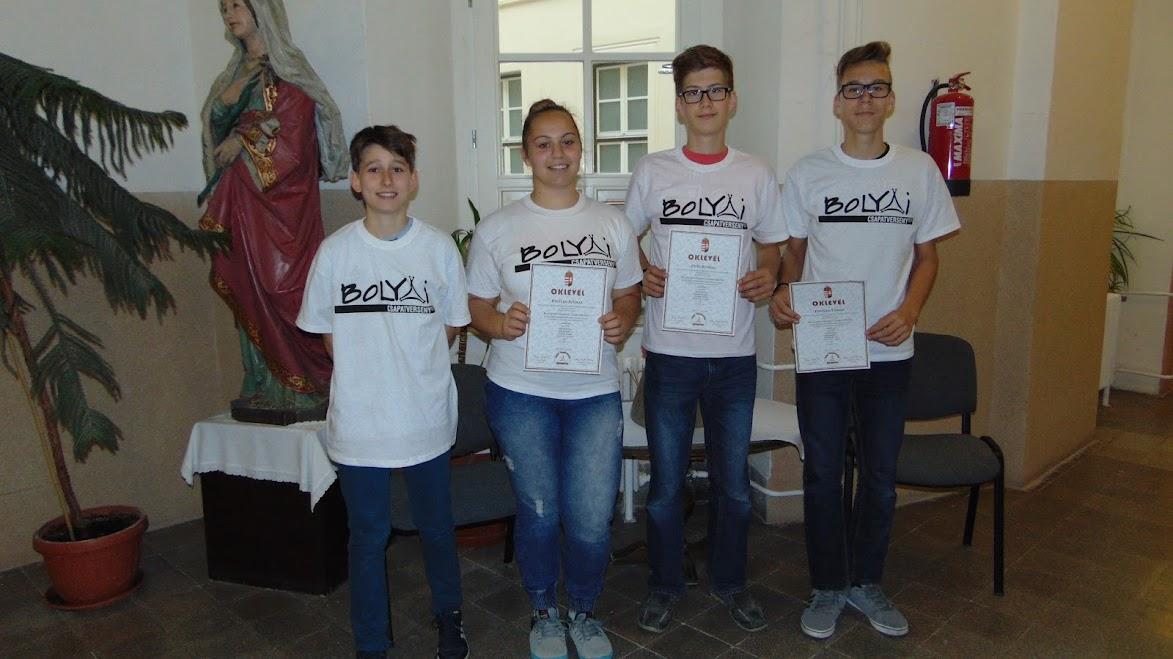 Bolyai csapatverseny