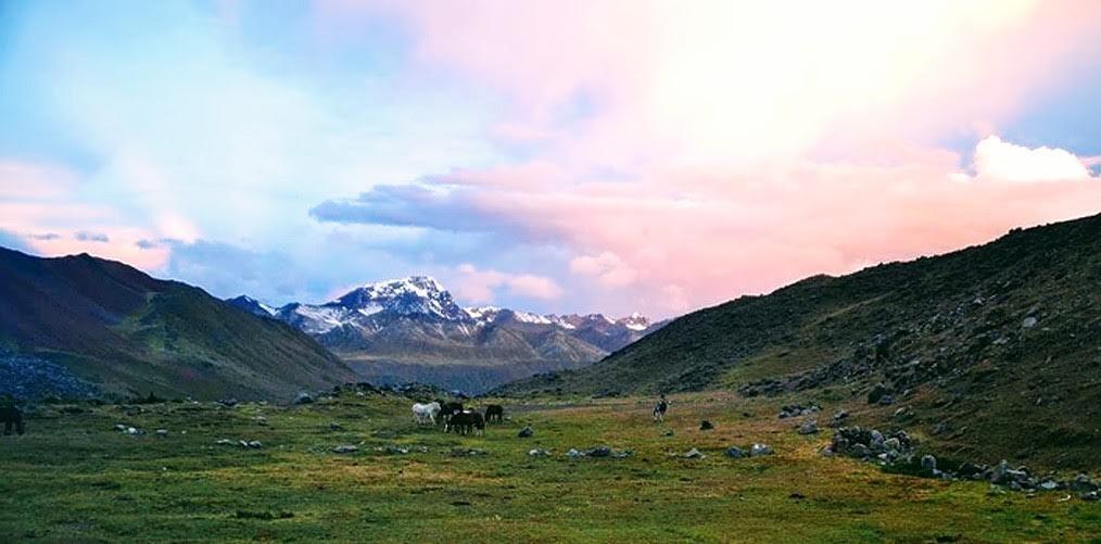 Wunderschönes Klima in Peru. Bild Lisa Wehmeyer