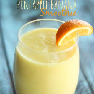 Orange Pineapple Banana Smoothie