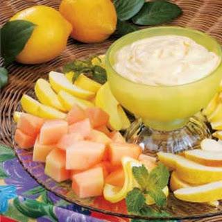 Lemon Fruit Dip.