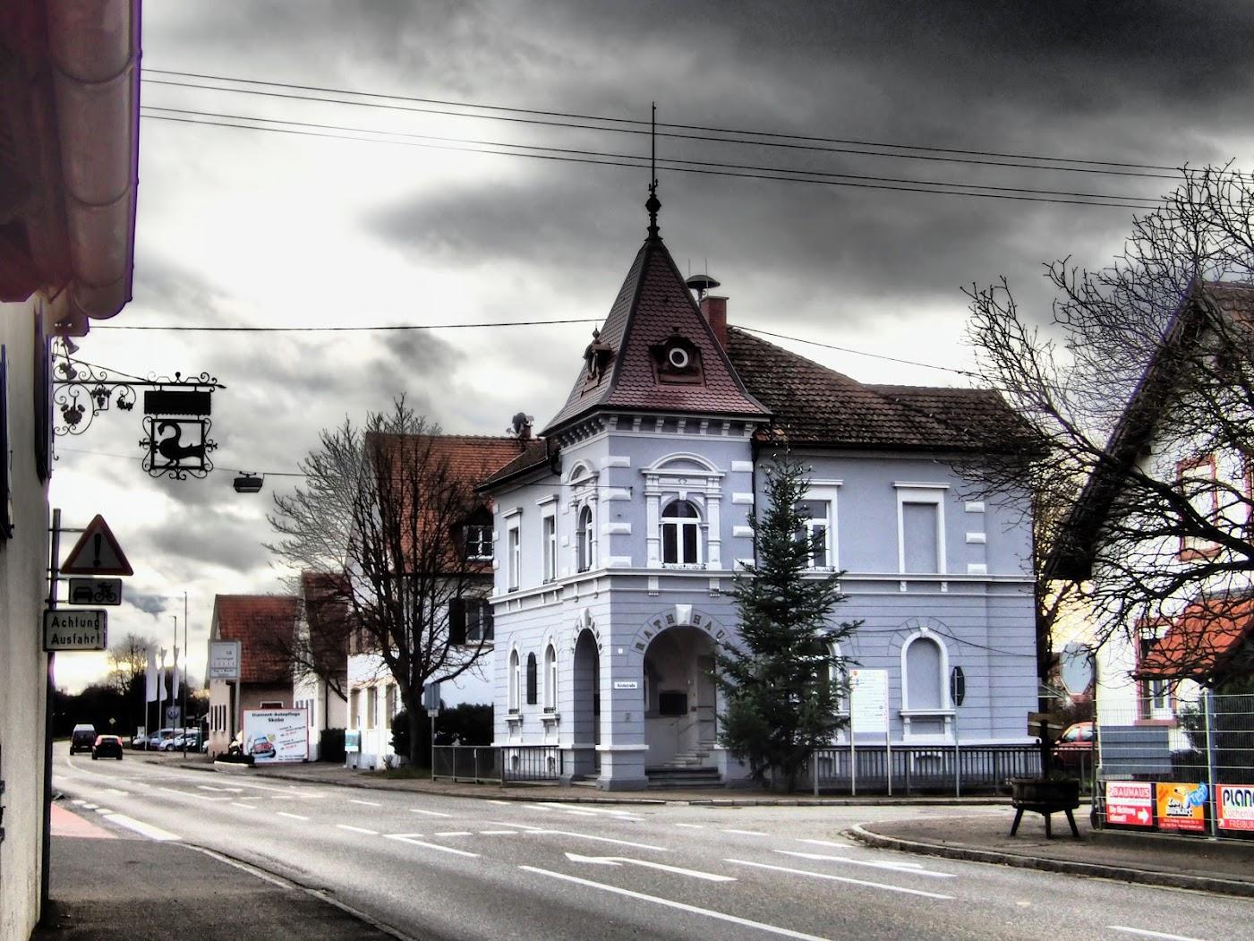 Buggibgen, le Rathaus a de la gueule