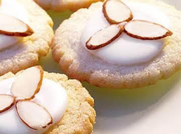 Almond Glazed Sugar Cookies