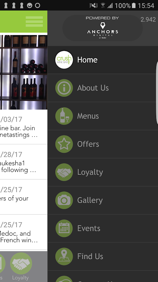 Crush Wine Bar- screenshot