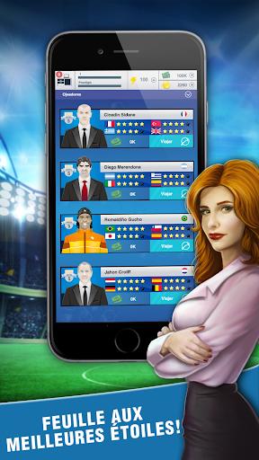 Football Agent - Mobile Foot Manager 2019  captures d'écran 1