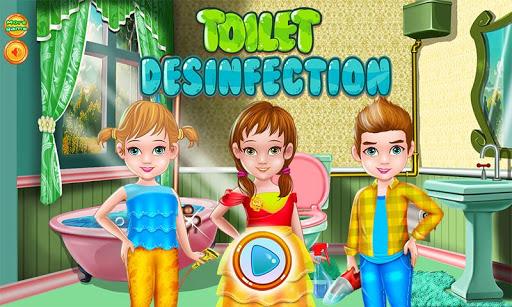 トイレ消毒洗浄ゲーム