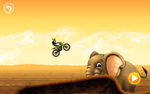 Safari Motocross Racing Screenshot