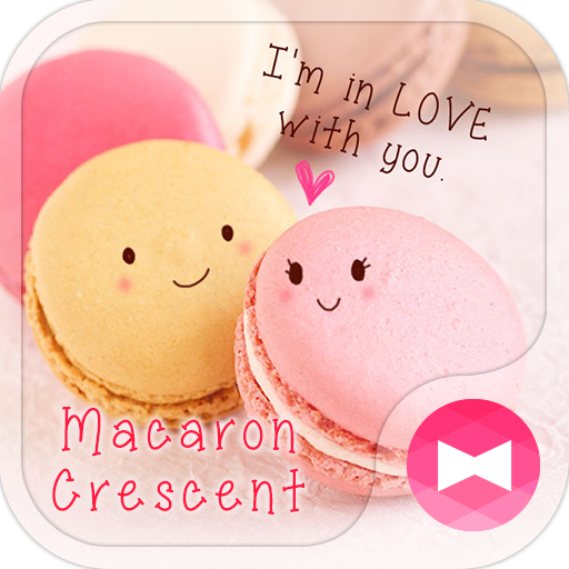 Wallpaper-Macaron Crescent- Icon