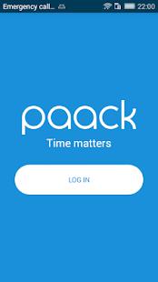 Paack - Driver App - náhled