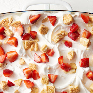 Strawberry Shortcake Golden Oreo™ Poke Cake Recipe