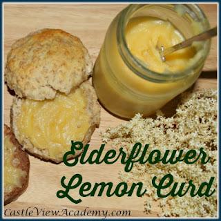 Elderflower Lemon Curd.