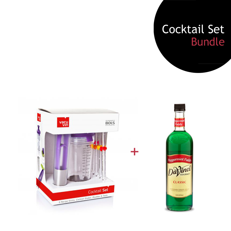 [Bundle] Cocktail Set + Peppermint Paddy Syrup by ECIATTO GROUP SDN BHD
