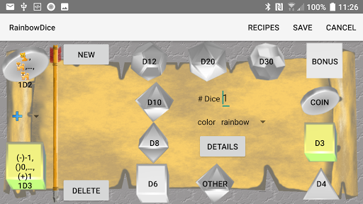 Dice Roller 3D: Rainbow Dice screenshots 5