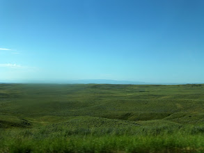 Photo: Pretty flat, with lots of coulees.