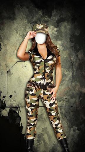 女性軍フォトスーツ