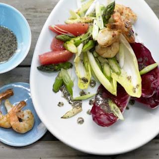 Chicory-Prawn Salad