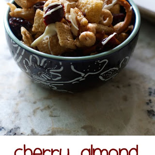 Cherry Almond Chex Mix
