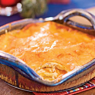 Red Chile-Cheese Enchiladas.