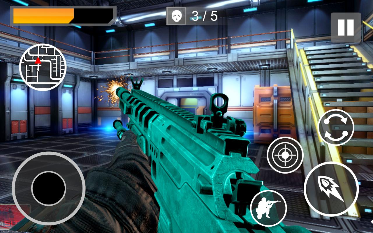حربية مغوار قتال بندقية حرب- لقطة شاشة