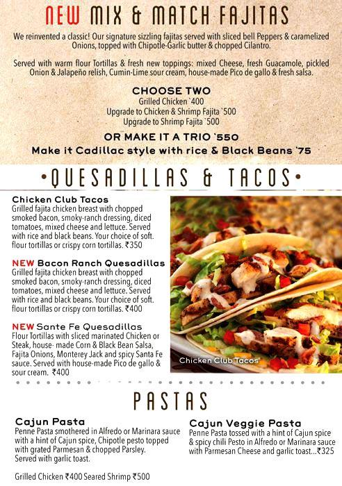 Chili's Grill & Bar menu 6