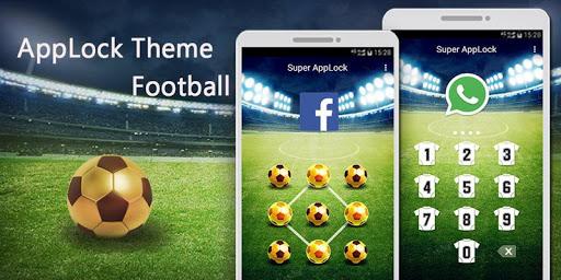应用锁主题-狂热足球