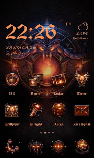 Darkon Theme - ZERO Launcher
