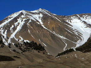 Photo: We took the far left ridge up and took the adjacent glissade down.
