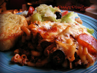 Peggy's Pizza Casserole Recipe