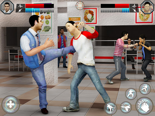 High School Bully Gangster: Karate Fighting Games 1.0.10 screenshots 10
