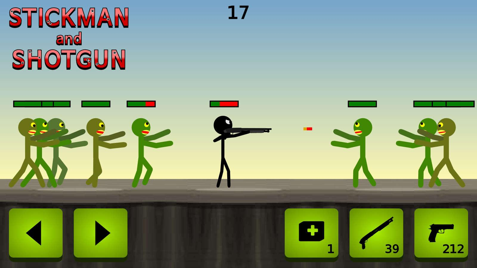 Stickman and Shotgun- screenshot