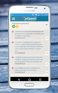 OptiSantis – Vignette de la capture d'écran