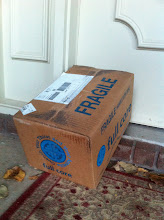 Photo: I was so excited to get it- I mean, I just love getting packages! :) It's like Christmas!