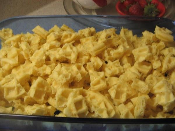 Preheat oven to 350^. Spray a 9x13 baking pan  or 2 quart baking...