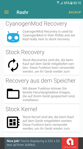 [ROOT] Rashr - Flash Tool 2.4.3 screenshots 2