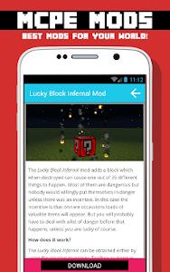 BLOCK MODS FOR MCPE screenshot 3