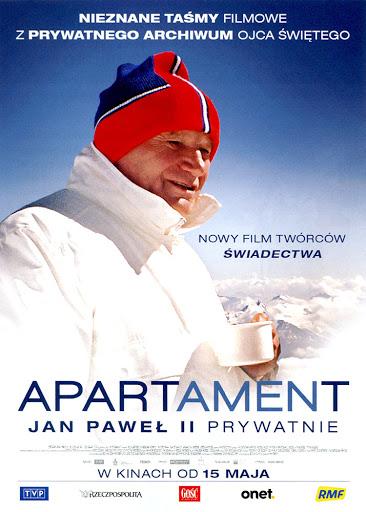 Przód ulotki filmu 'Apartament'