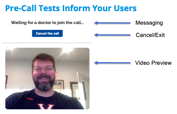 Pre-Call Tests Inform Your Users