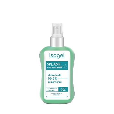 splash antibacterial isogel 90ml