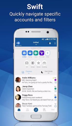 Blue Mail - Email & Calendar App - Mailbox 1.9.5.9 screenshots 1