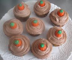 Pumpkin Cupcakes per dozen