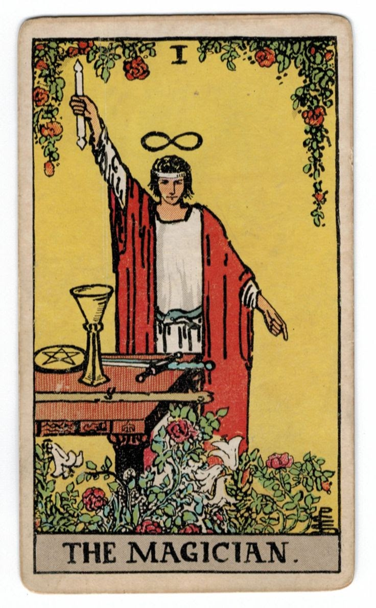 Tarot Cards And Important Life Events: Magician Tarot Card Meaning