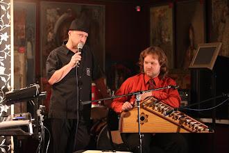 Photo: Одиссей Богусевич (клавишные) и Павел Лукоянов (гусли звончатые)