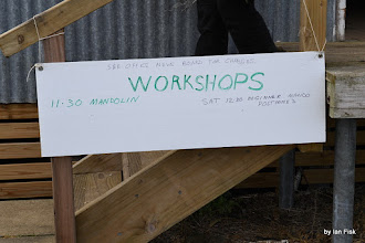 Photo: Sign outside the Woolshed