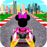 Race Mickey RoadSter Minnie Icon
